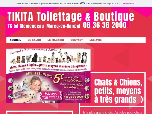 Tikita Toilettage & Boutique