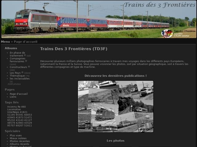 Les Trains des 3 Frontières (T3F)