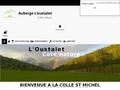 Gîte auberge de l'oustalet Thorame-Haute Alpes de Haute-Provence
