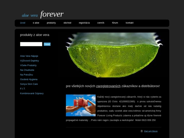 Aloe Vera produkty pre zdravie a krásu | Forever Living Products