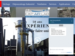 Exp'air Lab ventilation industrielle