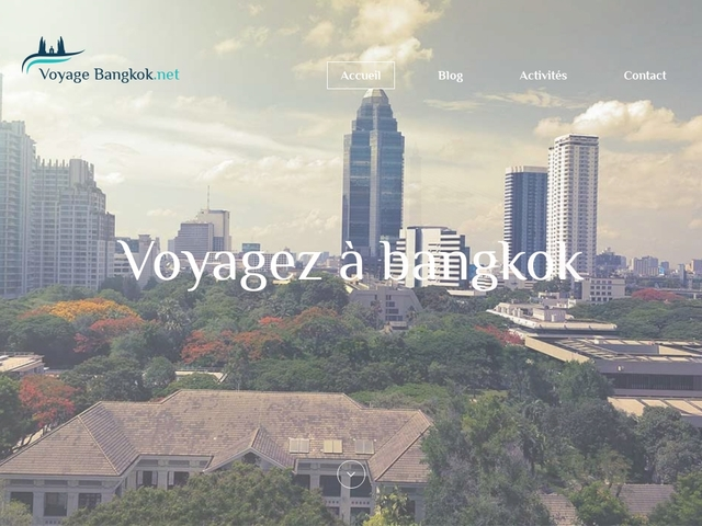Voyage Bangkok : séjour organisé à Bangkok