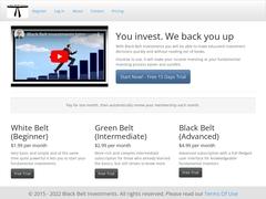 Black Belt Investments Stock Market Research