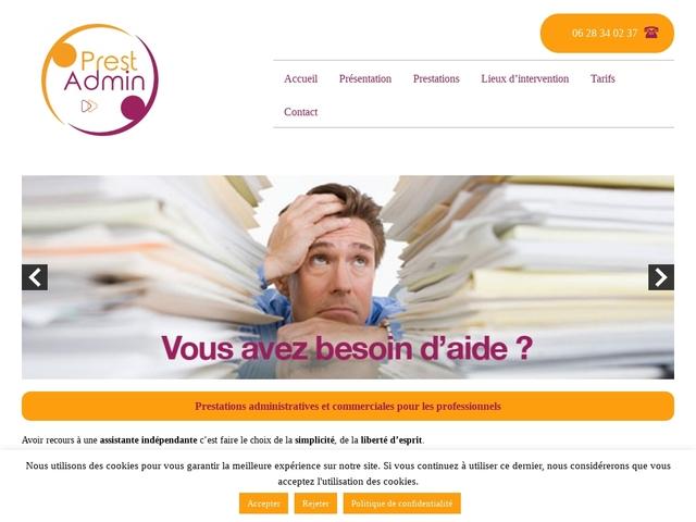 OLENDON - PrestAdmin assistante administrative et commerciale