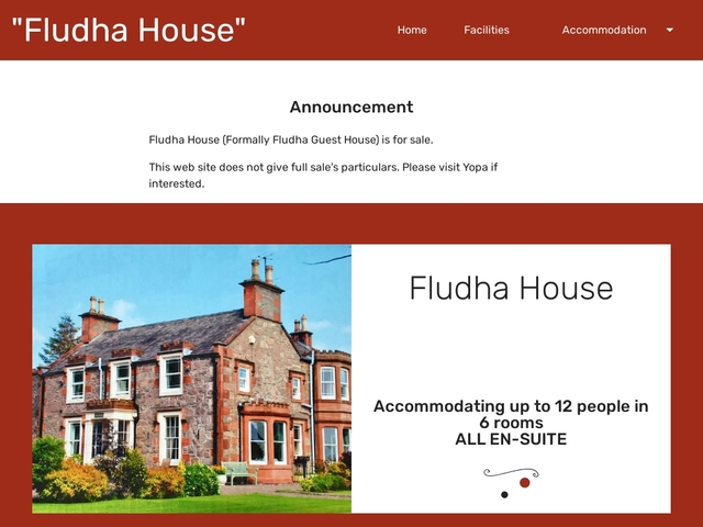 Fludha Guest House - Kirkcudbright - Dumfries & Galloway - Scotland.