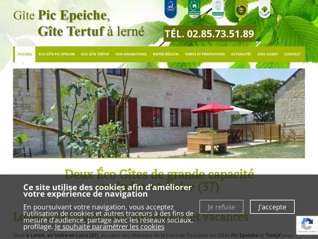 Eco-gîte en Touraine, le Pic épeiche