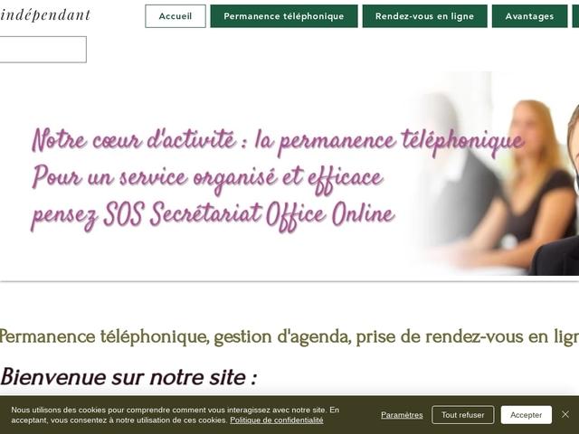 BOLLENE - SOS Secrétariat Office Online, permanence téléphonique