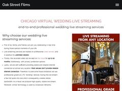 Cinematic Wedding Videography - Oakstreetfilms