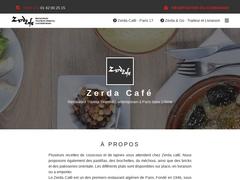 Zerda Café Restaurant Traiteur Oriental Contemporain sur Paris