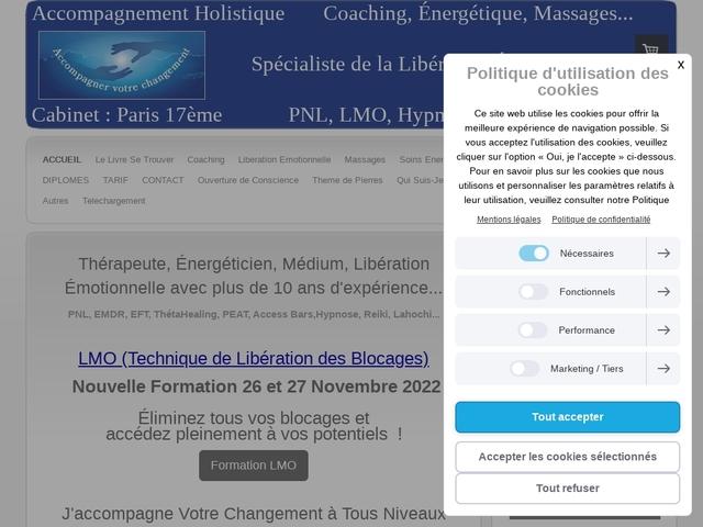 Coach Thérapie holistique Paris