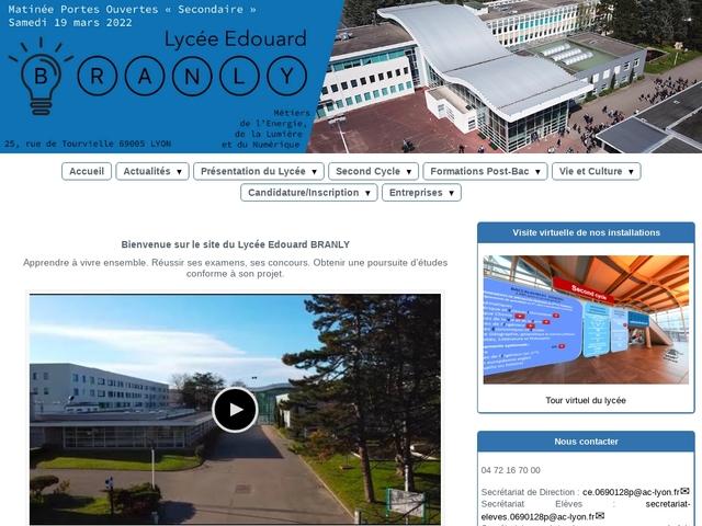 Lycée Edouard Branly (Lyon)