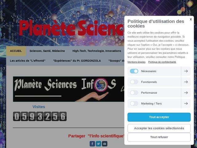 Planete Sciences Infos