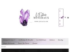 L'ESTACLE - MINERAUX - LE BIEN ETRE PAR LES PIERRES