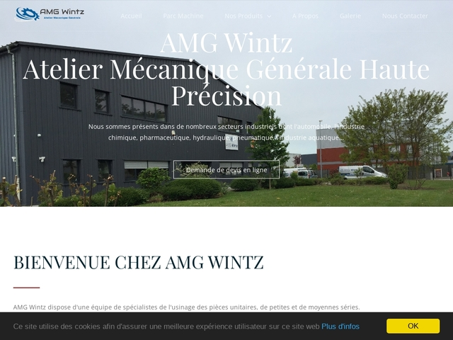 A.M.G-Wintz Sarl - (67) -M.G-Précis -Concept-Fabricant Joint
