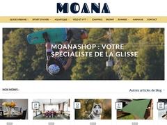 Site du magasin Moanashop