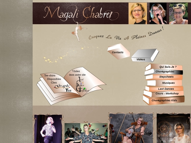 Magali Chabret-home page