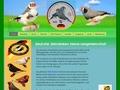 Startseite der Deutschen Zebrafinken Interessengemeinschaft (DZI)