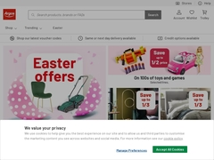 Shop Online with Argos.co.uk - your Online Catalogue for Home Shopping