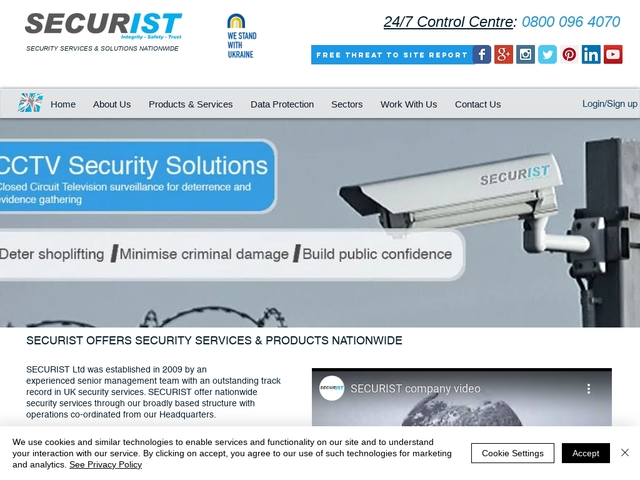 SECURIST | Security company | Nationwide