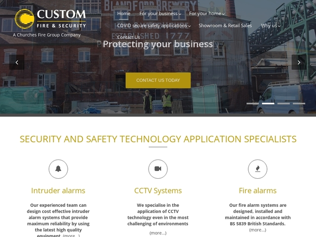 Custom Fire & Security