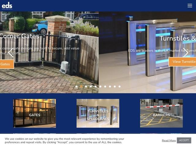 EDS - UK's Leader - CCTV Alarms Access Control