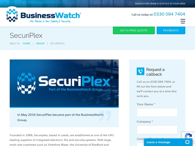 SecuriPlex  CCTV & Security Systems
