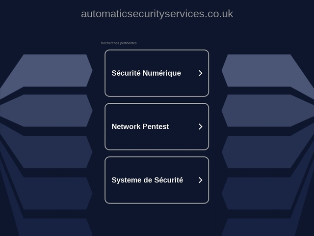 automatic security services ltd