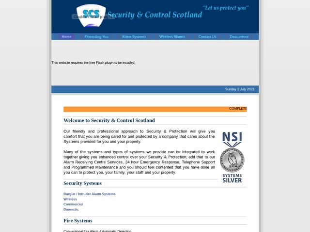 Security & Control Scotland
