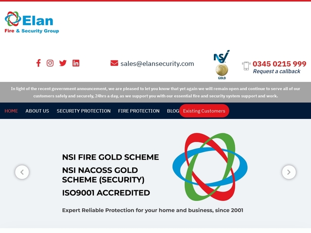 Elan Fire and Security Group