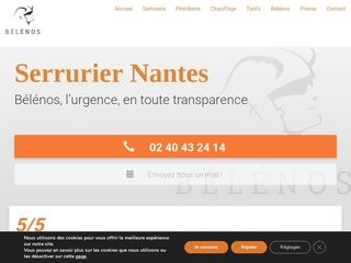 Bélénos : serrurier Nantes