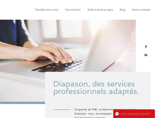 TRUCHON - Diapason : assistante administrative indépendante