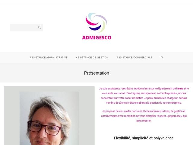IZEAUX - ADMIGESCO assistante indépendante de gestion