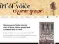 Art of Voice - Gospel Orléans - Accueil