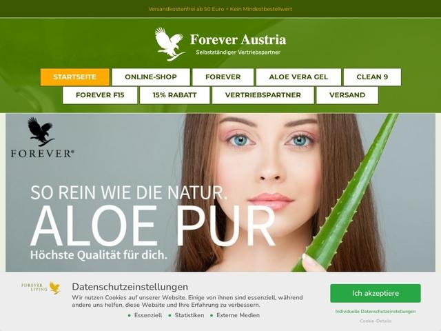 Forever Living Austria – Ihr Shop für Aloe Vera Produkte