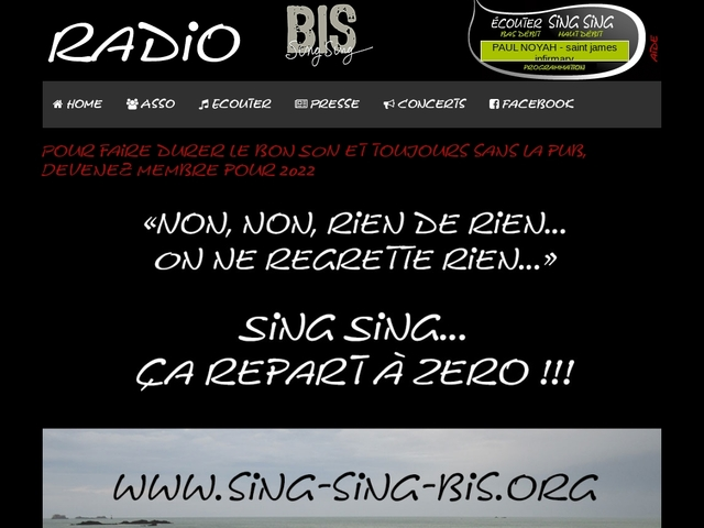 RADIO SING SING
