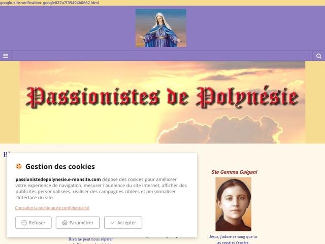 Passionistes en Polynésie