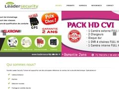 Leader security: Vidéosurveillance et système d'alarme