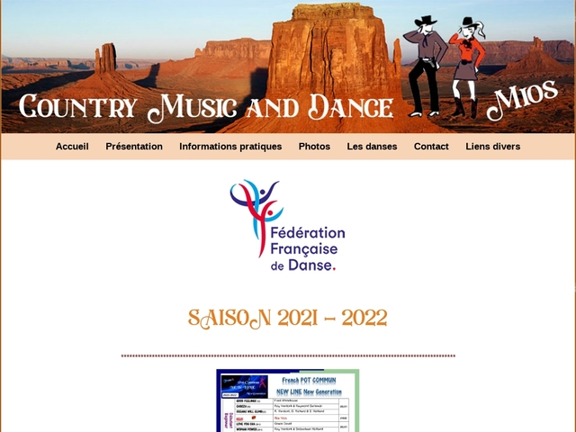 COUNTRY MUSIC AND DANCE - Mios 33 Gironde