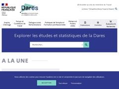 DARES – Études et statistiques - Ministère du Travail
