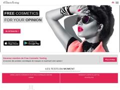 Free Cosmetic Testing