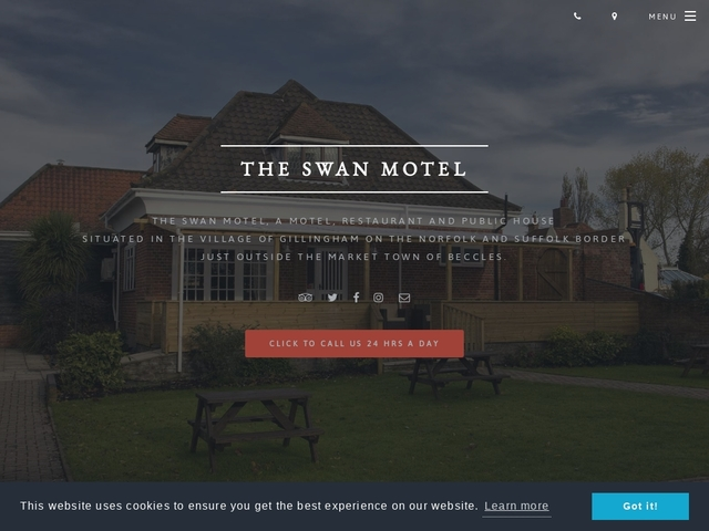 The Swan Motel - Gillingham - Beccles - Suffolk - 01502 470005