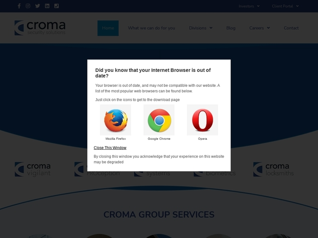Croma Security Systems