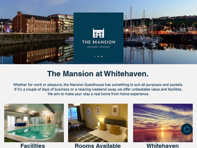 The Mansion at Whitehaven - Cumbria - CA289LN - 01946 61860