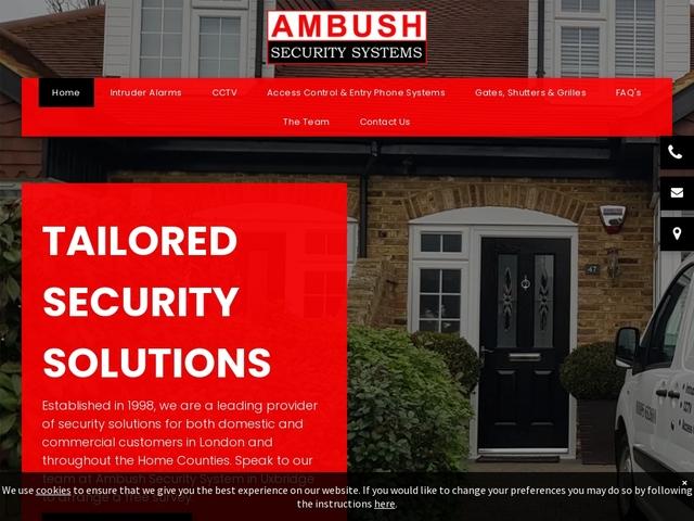 Ambush Security Systems | Alarm Systems - London, Chiswick, Ealing