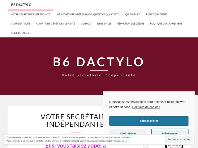 SULIGNAT - B6 DACTYLO secrétariat en ligne