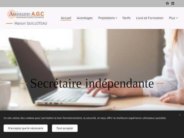 DOLUS LE SEC - ASSISTANTE AGC : secrétariat, gestion commerciale