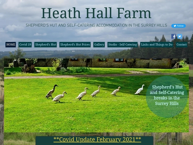Heath Hall Farm, Bowhead Green, Godalming, Surrey