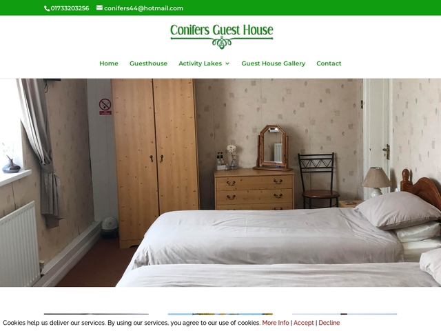 Conifers Guest House - Whittlesey - Peterborough - England.