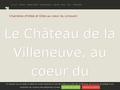 au chateau de la Villeneuve, le coeur du Limousin....