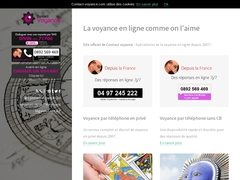 Annuaire contact Voyance